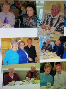 Our Board members enjoying the Lunch and friendship at the Annual Woman's Friend Meeting on January 25, 2016